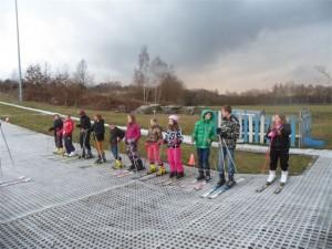 15 april skiën met de jeugdclub
